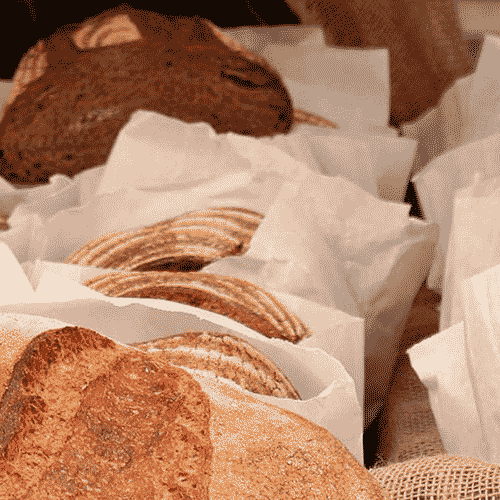 fresh baked bread in northcote