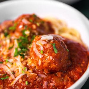 meatballs in soup