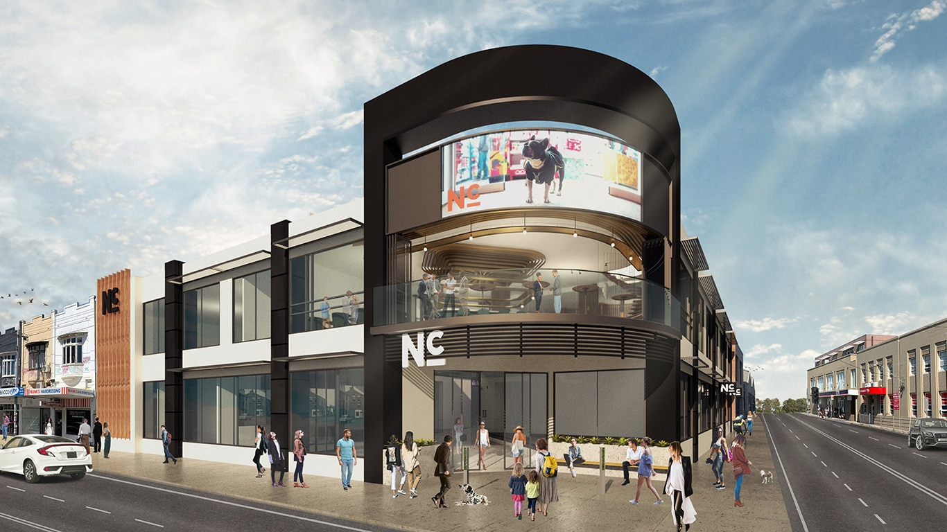 new front upgrades at Northcote Central