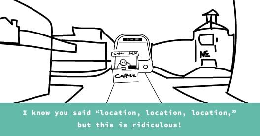 location joke